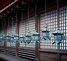 Kasuga-taisha hanging lanterns by photoeverywhere