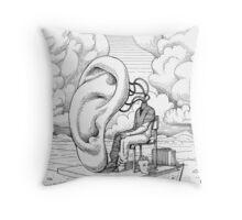 Silent 2 Throw Pillow