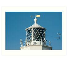 Lizard Lighthouse lantern Art Print