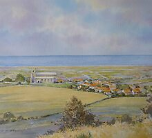 Salthouse from the Heath, North Norfolk by Brian C. Day by briancday