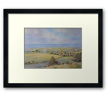 Salthouse from the Heath, North Norfolk by Brian C. Day Framed Print