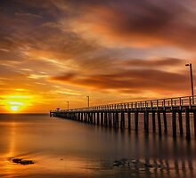 Sunrise at Lonnie - Pt Lonsdale Victoria by Graeme Buckland