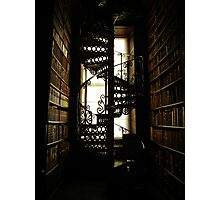 Library Staircase Photographic Print