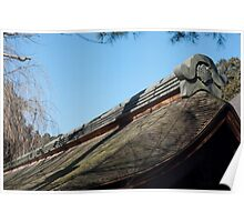 Ryoan-ji Shingle Roof Poster