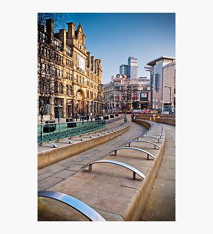 Manchester's Corn Exchange Photographic Print