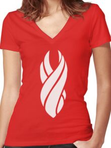Dead Space Marker Women's Fitted V-Neck T-Shirt
