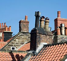 Rooftops and chimney pots by photoeverywhere