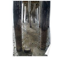Cayucos Wooden Pier Poster