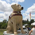 Guide Dog Effigy  by Staffaholic
