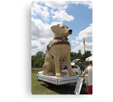 Guide Dog Effigy  Canvas Print