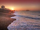 Brighton Seafront Sunrise 2 - HDR by Colin  Williams Photography