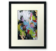 Abstract O Framed Print