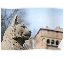 Cardiff Castle Animal Wall Poster