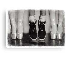 Pointe Challenge Canvas Print