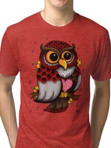 Owl Shirt Tri-blend T-Shirt