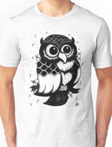 Owl Shirt Sketch Unisex T-Shirt