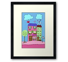 Cupcake shop Framed Print
