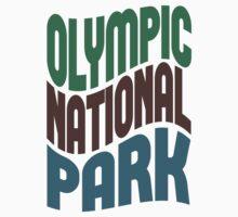 Olympic National Park Kids Tee