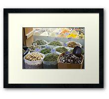 Doha Spice Souk Framed Print