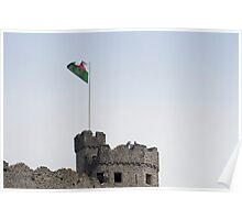 The Cardiff castle keep Poster
