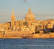 Valetta - Malta by Mike Rivett
