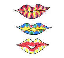 Rainbow Kisses by Sol-disegni-