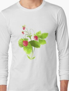 Strawberry Long Sleeve T-Shirt