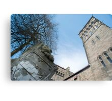 Cardiff Castle Animal Wall Metal Print