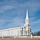 Mormon Temple in St. Louis Missouri  by barnsis
