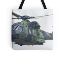Finnish Army Helicopter Tote Bag