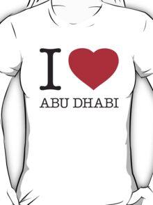 I ♥ ABU DHABI T-Shirt