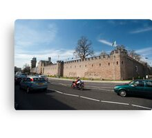 Cardiff Castle walls Canvas Print