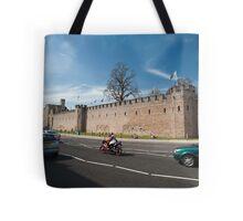 Cardiff Castle walls Tote Bag