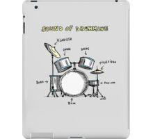 Sound of Drumming - Drumset iPad Case/Skin