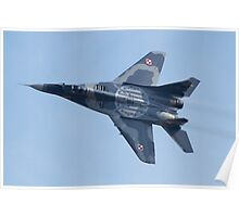 Polish Air Force Mig 29 Poster