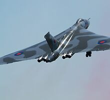 Avro Vulcan Take off by Mike Rivett