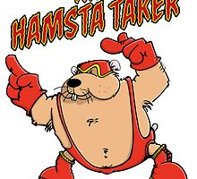 The Hamsta Taker - Hamster Wrestling by chrisbears