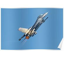 Turkish Air Force F-16 Poster