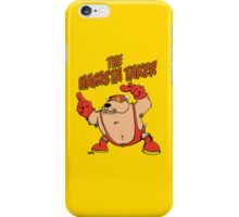 The Hamsta Taker - Hamster Wrestling iPhone Case/Skin