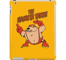 The Hamsta Taker - Hamster Wrestling iPad Case/Skin