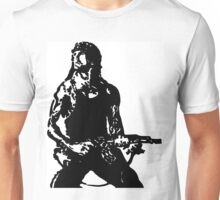 Rambo; First Blood Stencil Unisex T-Shirt