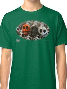 Orange Black And White Classic T-Shirt