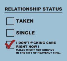 TMI - Malec : Relationship status by Saraelle