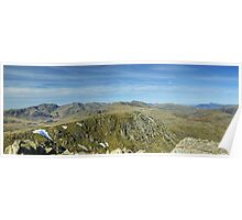 A Lakeland Panorama Poster