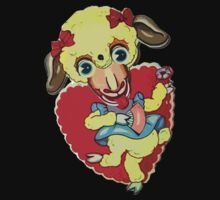 Horrifying Lamb Valentine by pocketsoup
