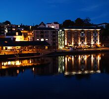 Exeter Quay - Evening by englished