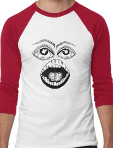 the face Men's Baseball ¾ T-Shirt