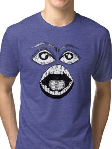 the face Tri-blend T-Shirt