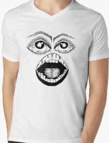 the face Mens V-Neck T-Shirt