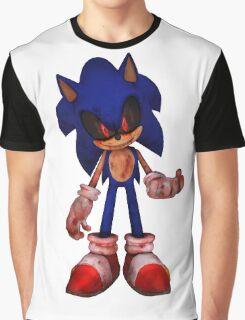 SONIC.EXE (Creepypasta) Graphic T-Shirt